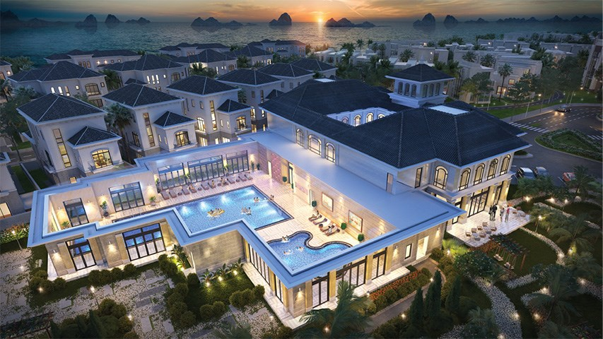 clup house grand bay ha long villas