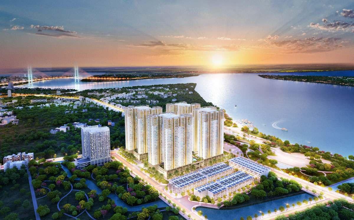phoi canh du an q7 riversiden complex