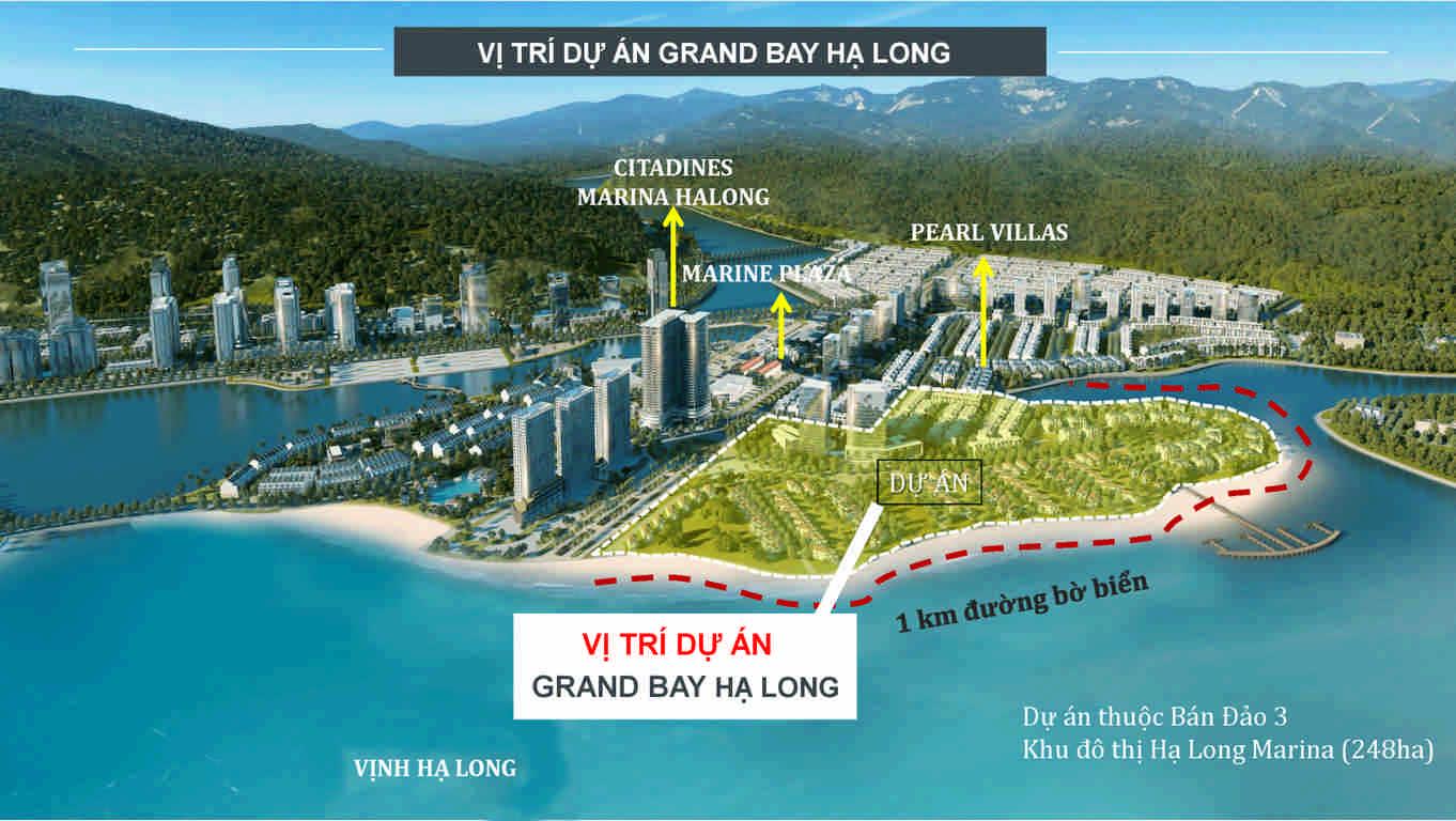 vi tri grand bay ha long villas