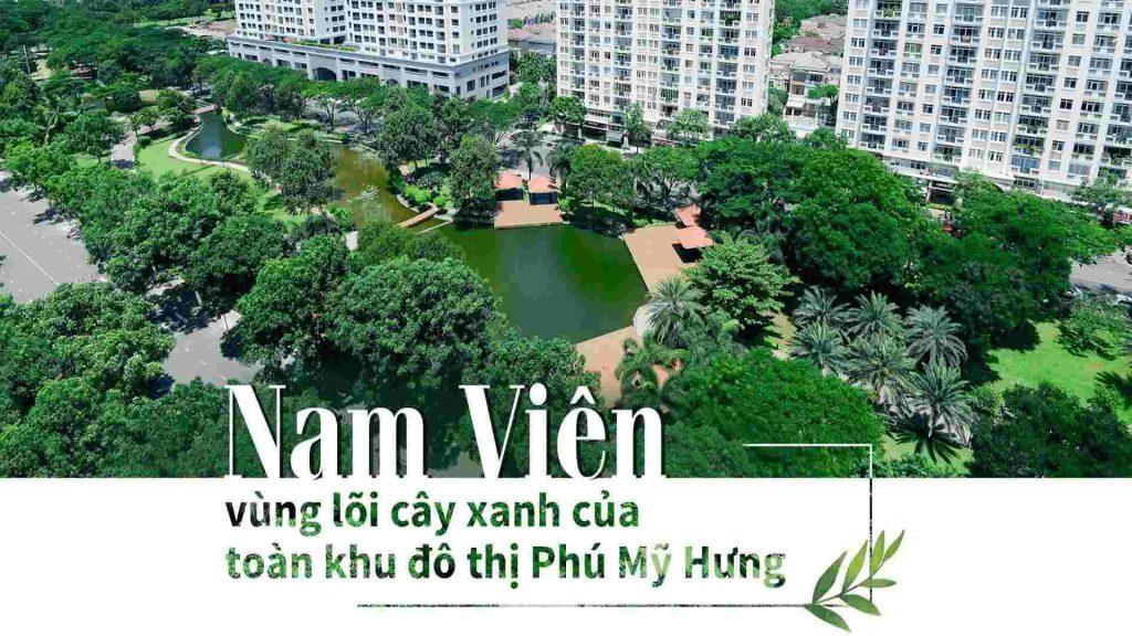 cong vien nam vien phu my hung