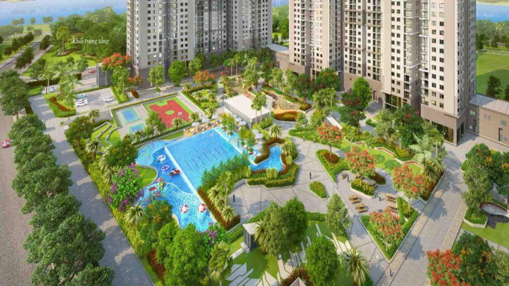 cong vien noi khu du an saigon south residences