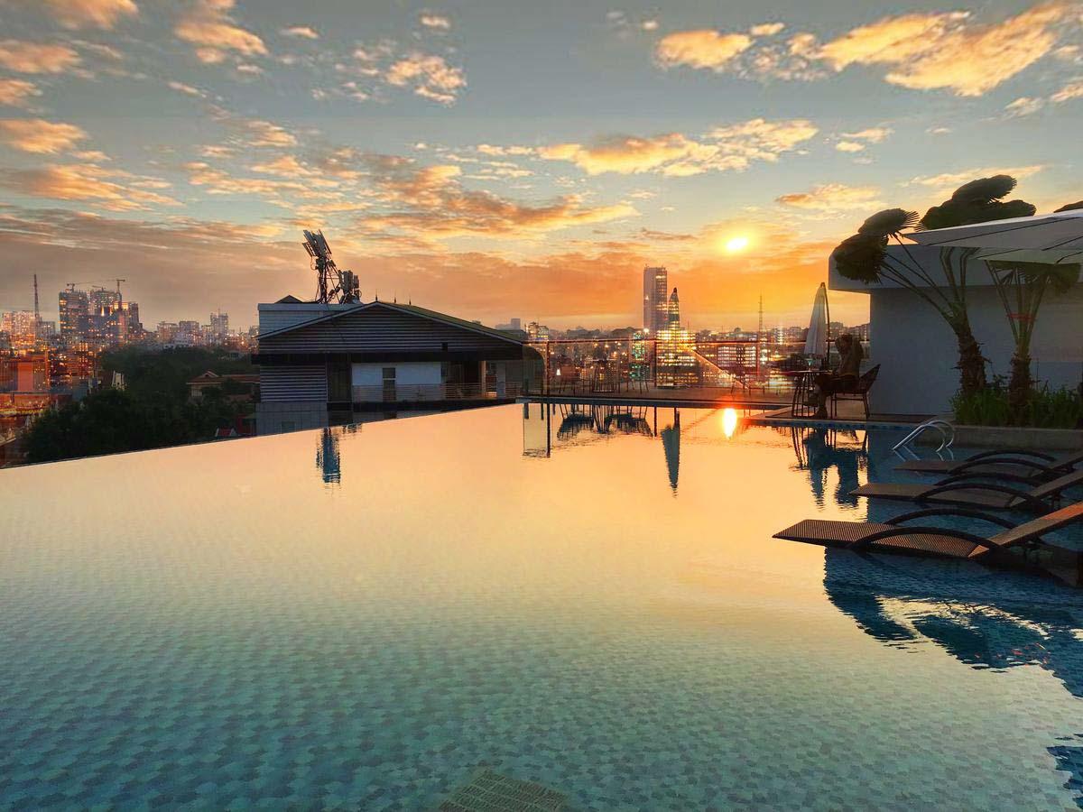 ho boi tran Mandala Spa Hotel Bac Ninh