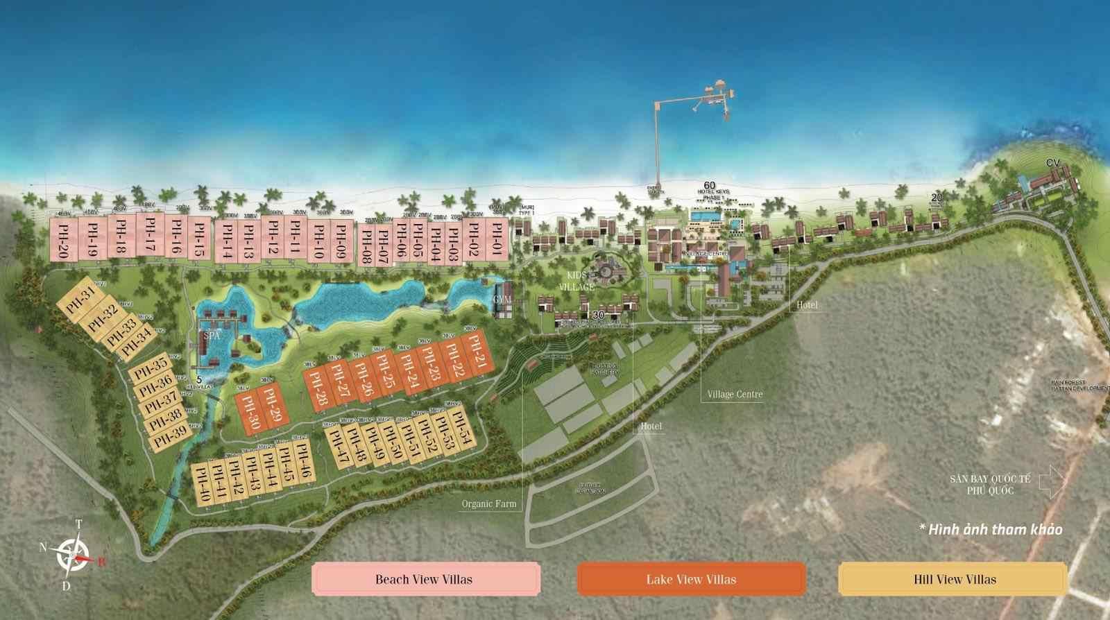 mat bang park hyatt phu quoc