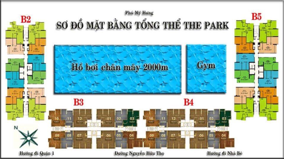 mat bang tong the du an the park residence