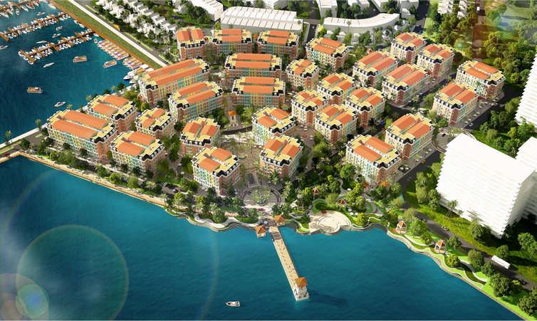 phoi canh aqua city ha long