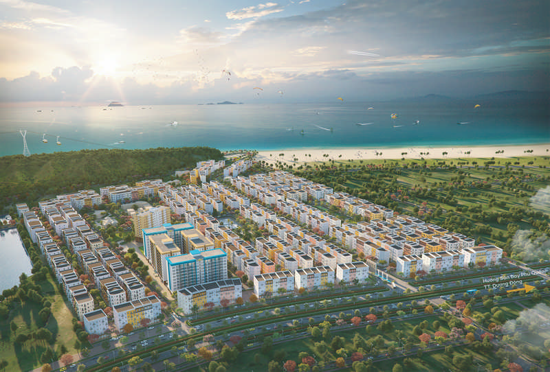 phoi canh tong the sun grand city new an thoi phu quoc