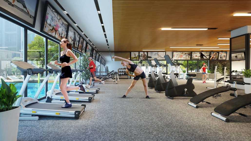 phong tap gym saigon gateway