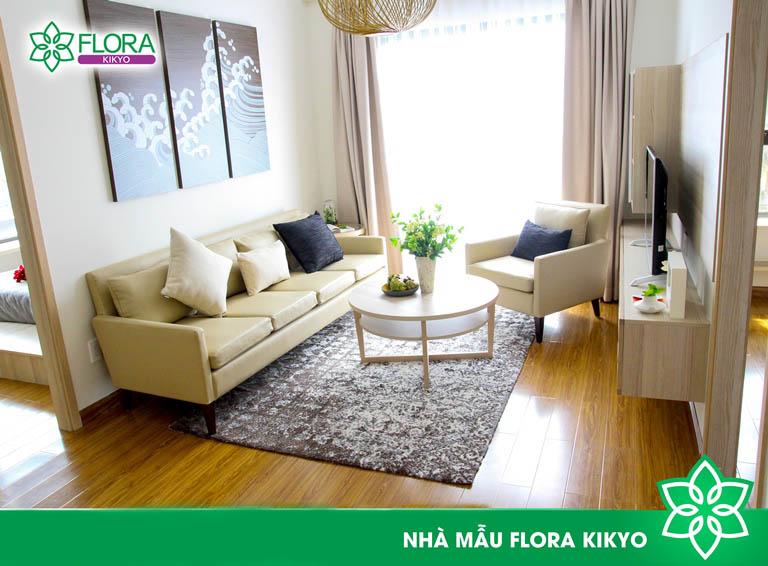 phong khach du an Flora Kikyo