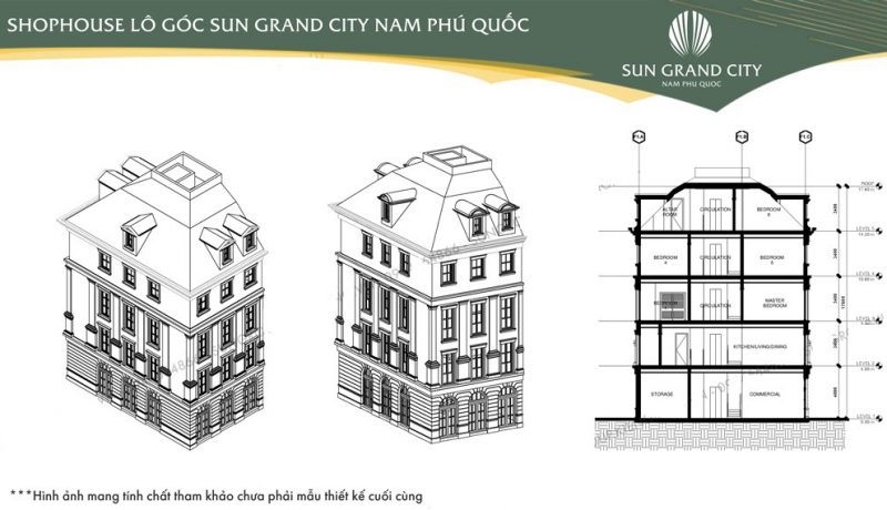 thiet ke shophouse sun grand city new an thoi phu quoc