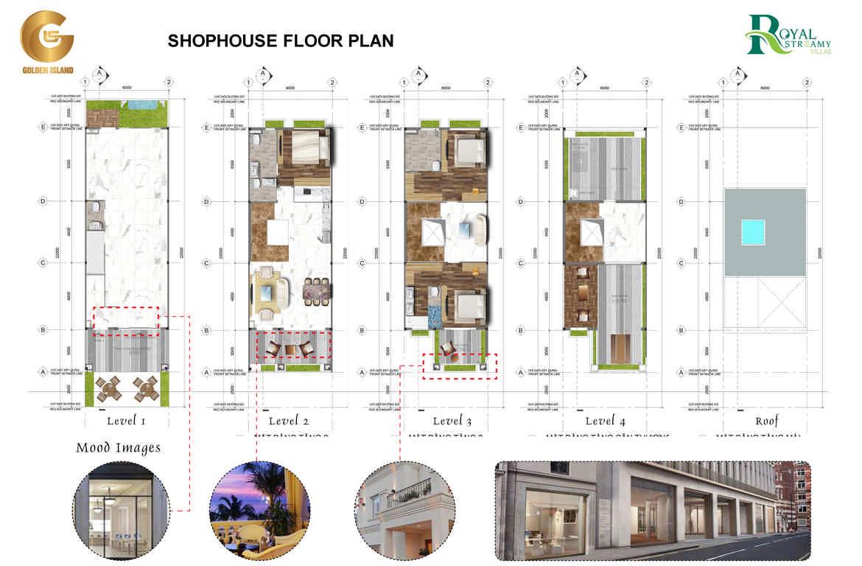 thiet ke shophouse royal streamy villas phu quoc