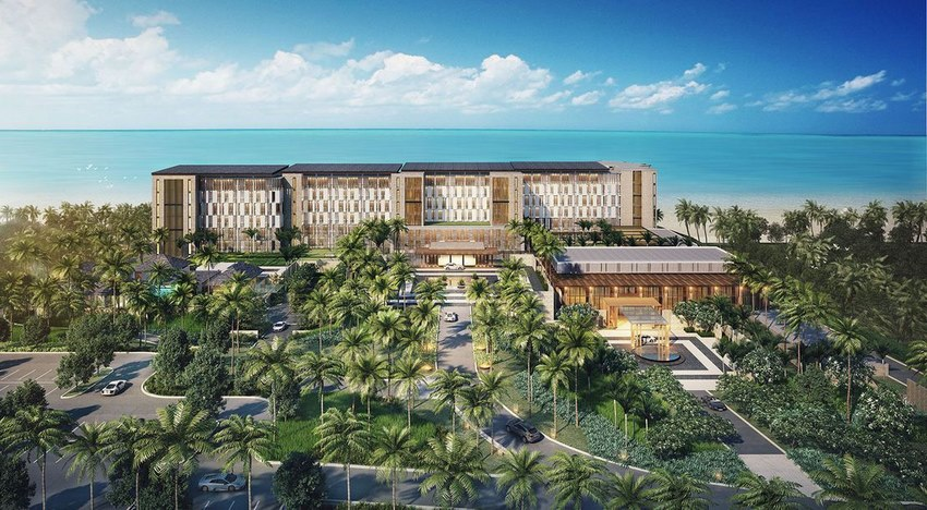 du an le meridien cam ranh bay resort & spa