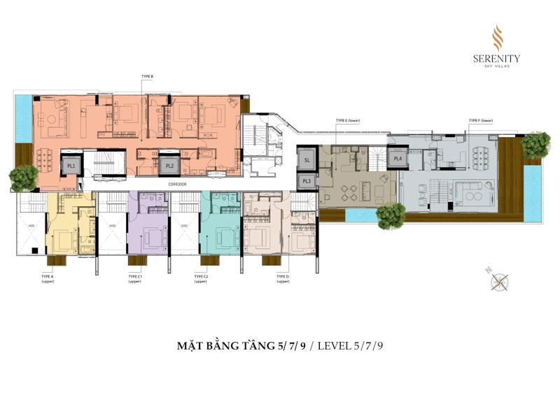 mat bang Serenity tang 5 7 9