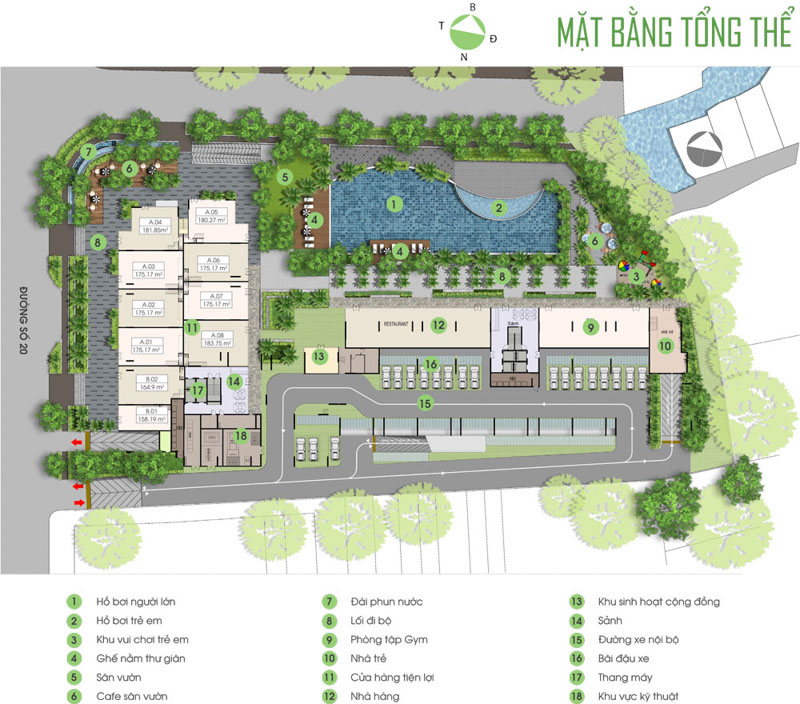 mat bang tong the du an opal garden