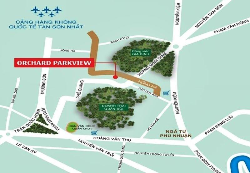 vi tri du an orchard parkview