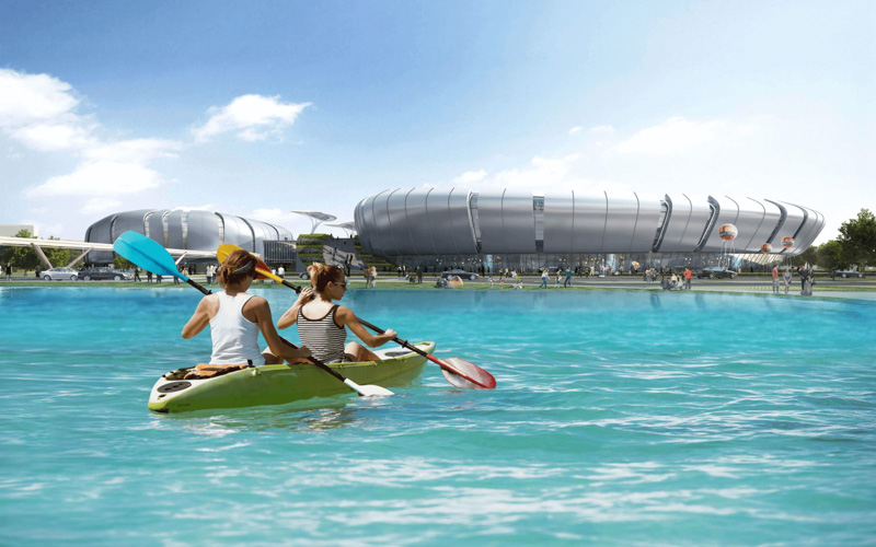 cheo thuyen kayak tai saigon sports city