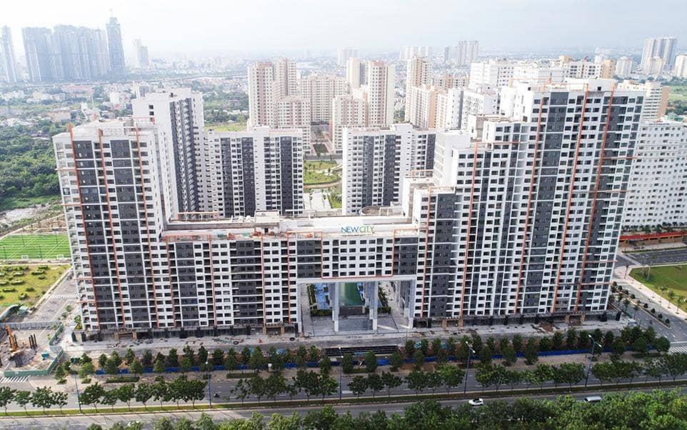 phoi canh du an new city quan 2