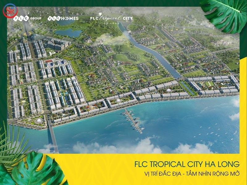 phoi canh FLC Tropical City Ha Long