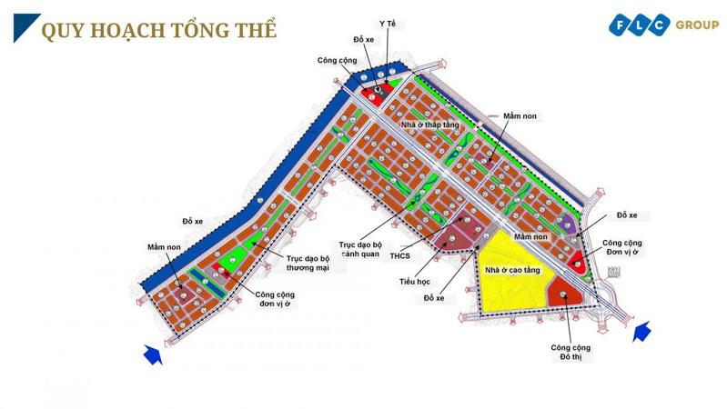 quy hoach tong the FLC Tropical City Ha Long