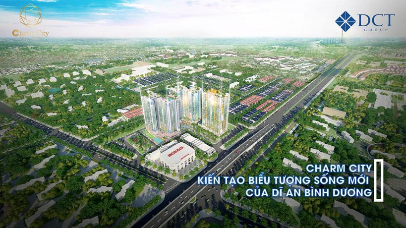 phoi canh du an charm city