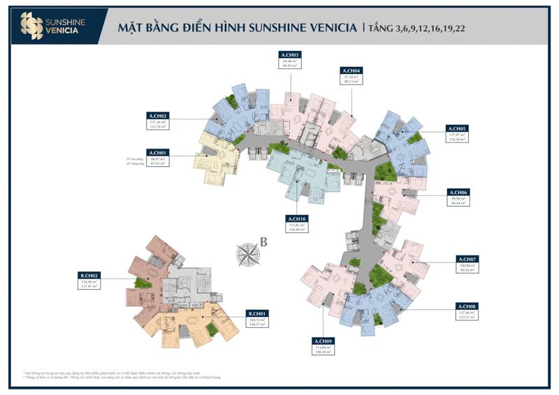mat bang tang 3-22 sunshine venicia