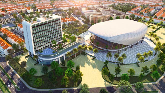aqua arena tai du an aqua city