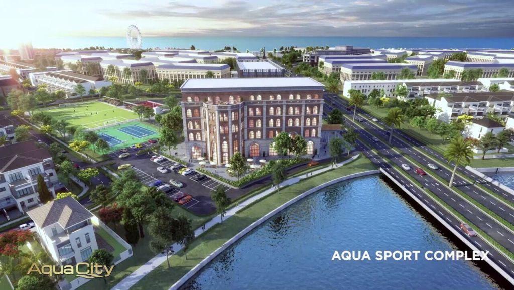 khu the thao tai aqua city