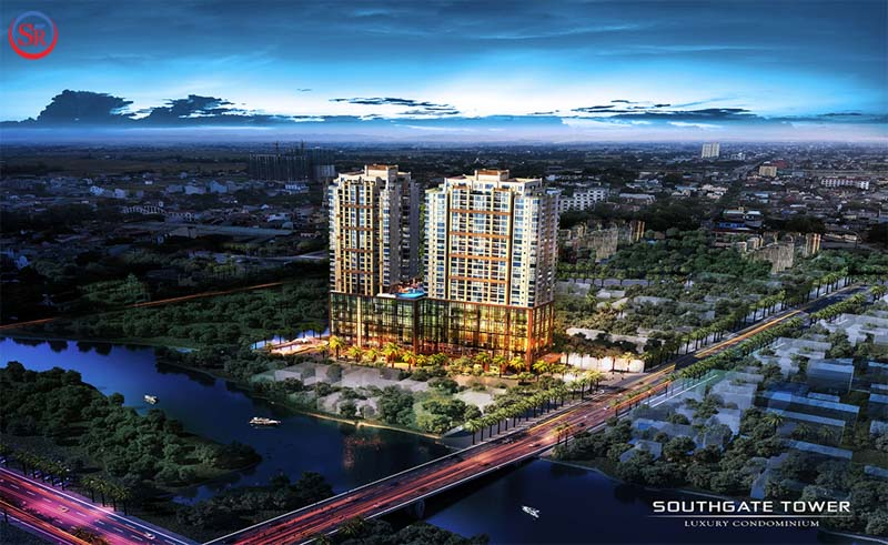 phoi canh du an southgate tower
