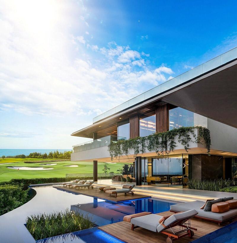 phoi canh pga golf villas novaworld phan thiet