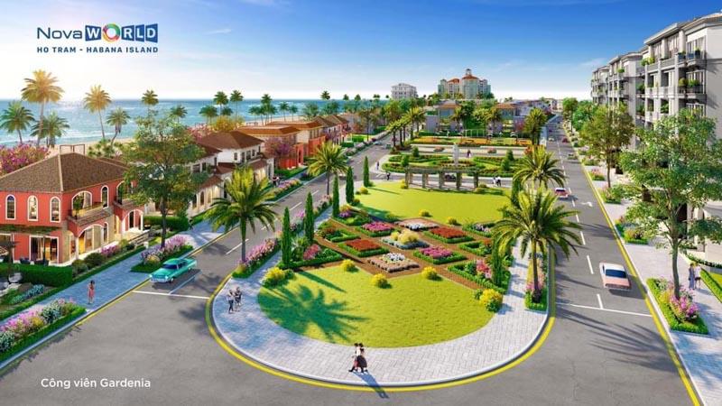 cong vien gardenia habana island