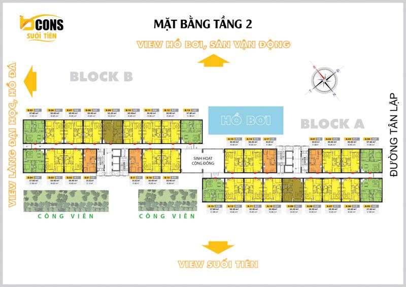 mat bang tang 2 bcons suoi tien