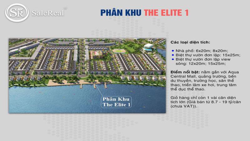 phoi canh khu the elite 1 tai aqua city