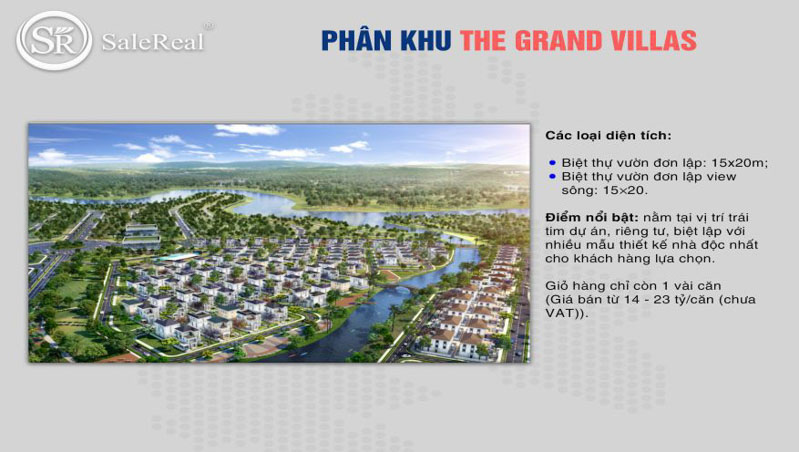 phan khu the grand villas tai aqua city