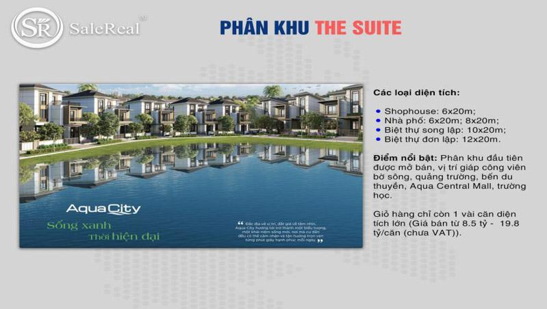 phan khu the suite tai aqua city