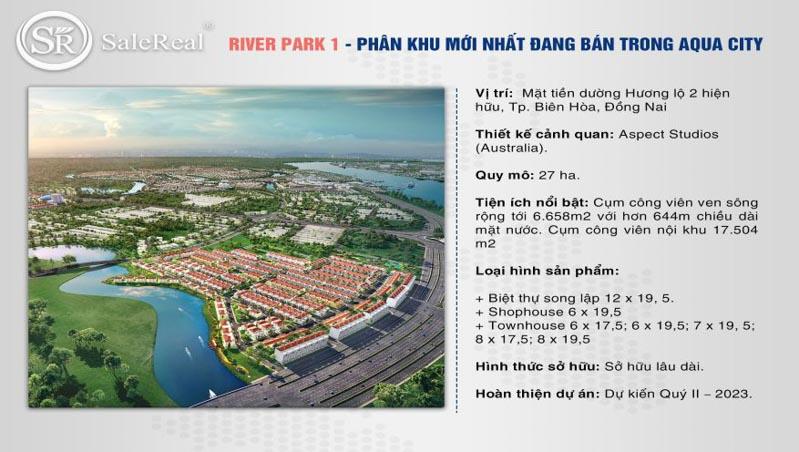 phan khu river park 1 aqua city