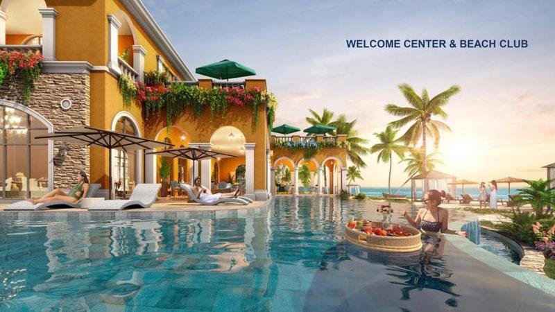 welcom center va beach club tai habana island
