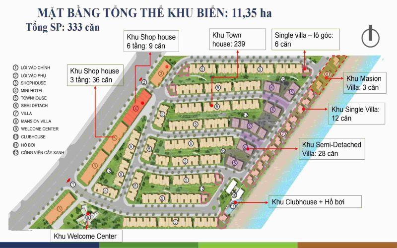 mat bang tong the happy beach villas novaworld ho tram