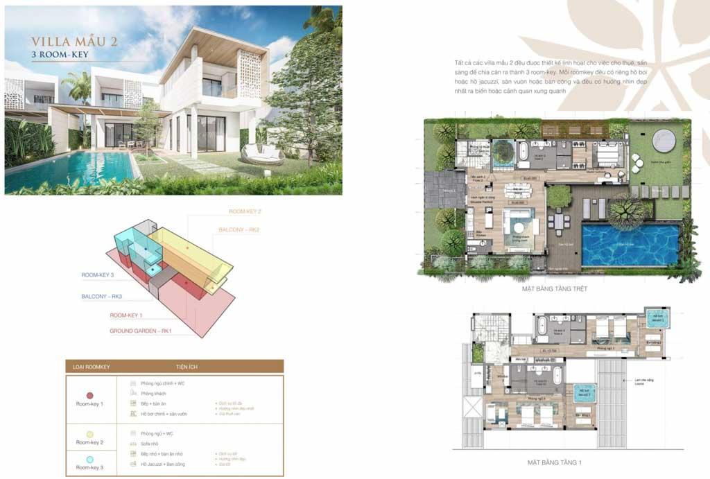 mat bang thiet ke villas angsana residences ho tram