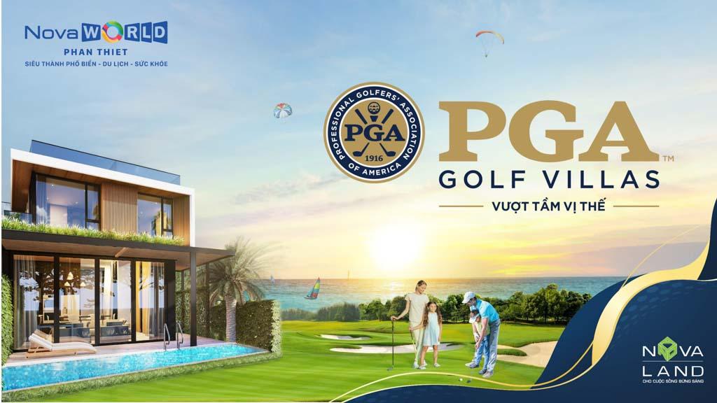phoi canh du an pga golf villas novaworld phan thiet
