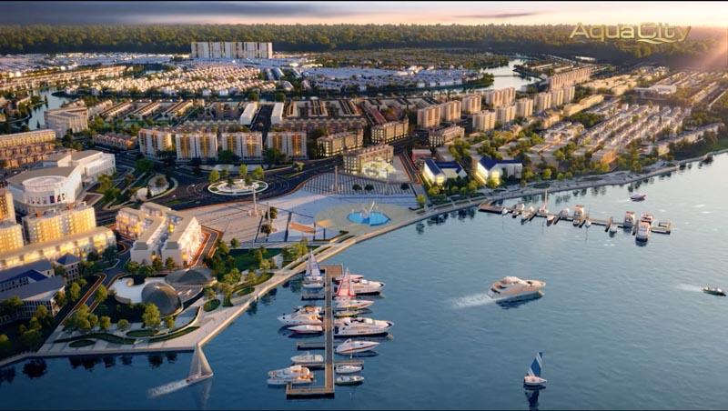 phoi canh toan bo phan khu aqua city sun harbor 1