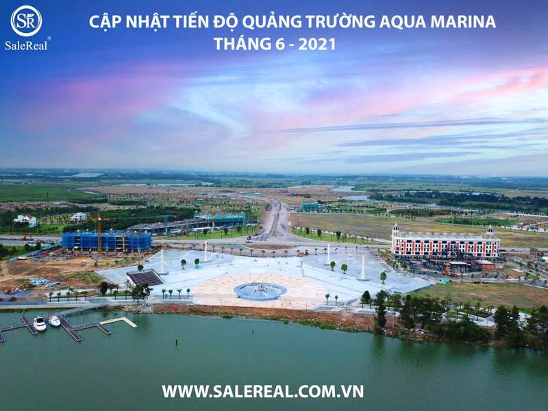 tien do quang truong du an aqua city sun harbor 1