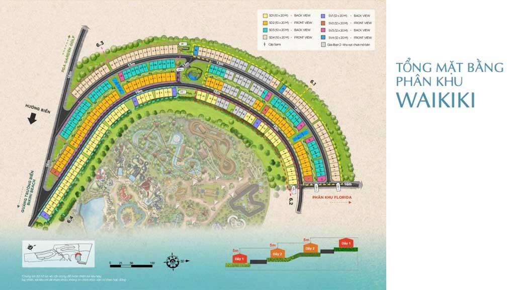 Giá bán Waikiki Novaworld Phan Thiết cập nhật 2021