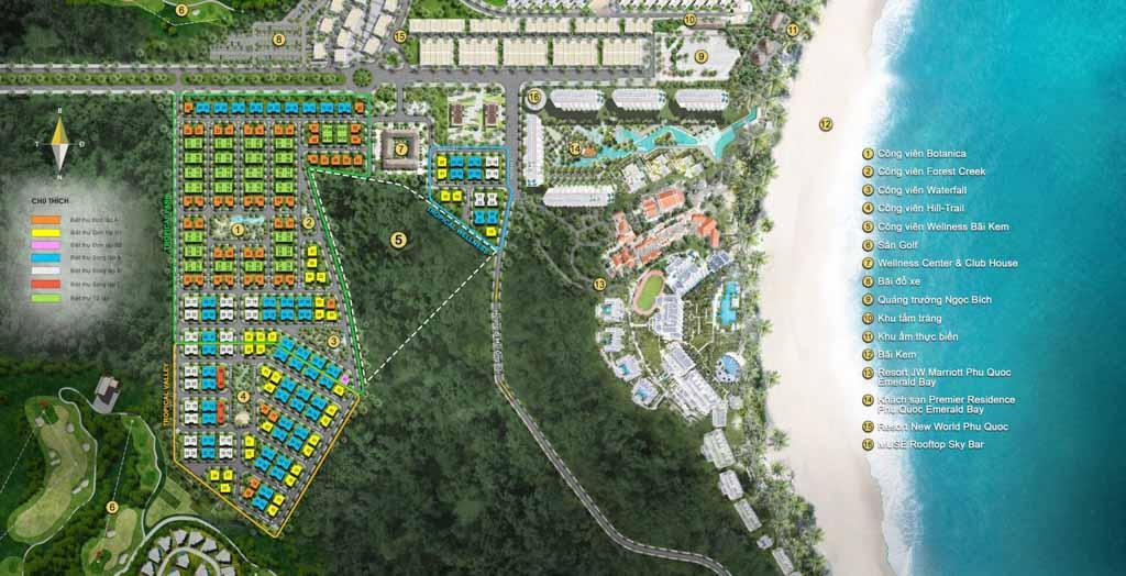 mat bang sun tropical village