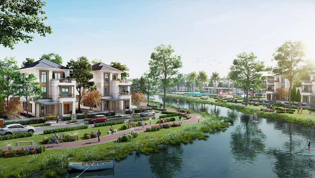 khong gian song tai aqua city