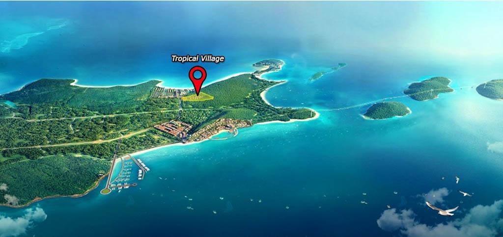 vi tri sun tropical village